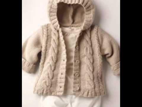Abrigos para bebes tejidos en crochet  86f26dca172e