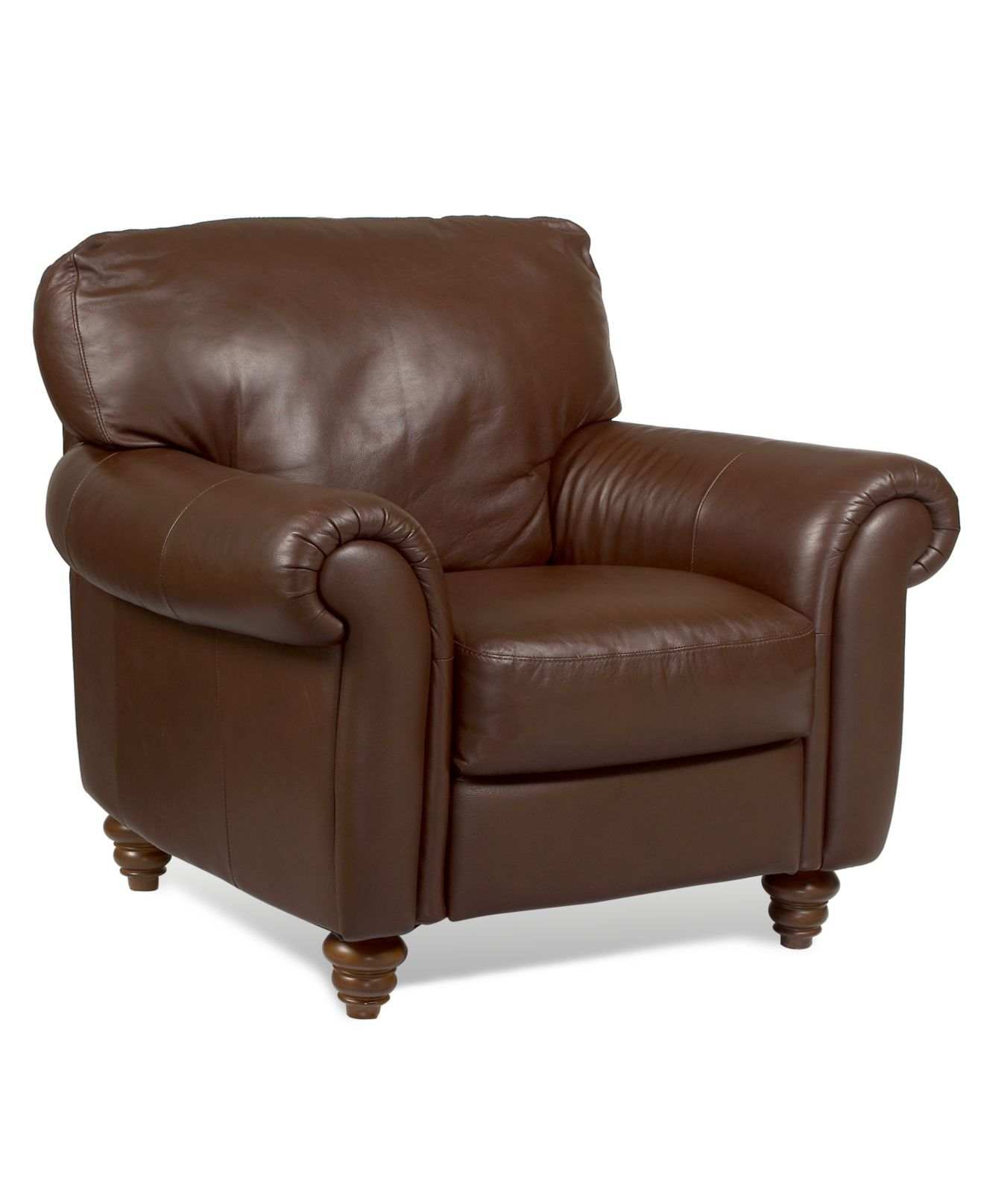 Umbria Leather Living Room Chair 41 W X 37 D X 36 H Chairs Recliners Furniture Leather Chair Living Room Living Room Chairs Living Room Decor Furniture