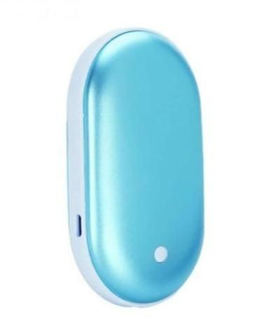 Portable Power Bank and Hand Warmer - BLUE