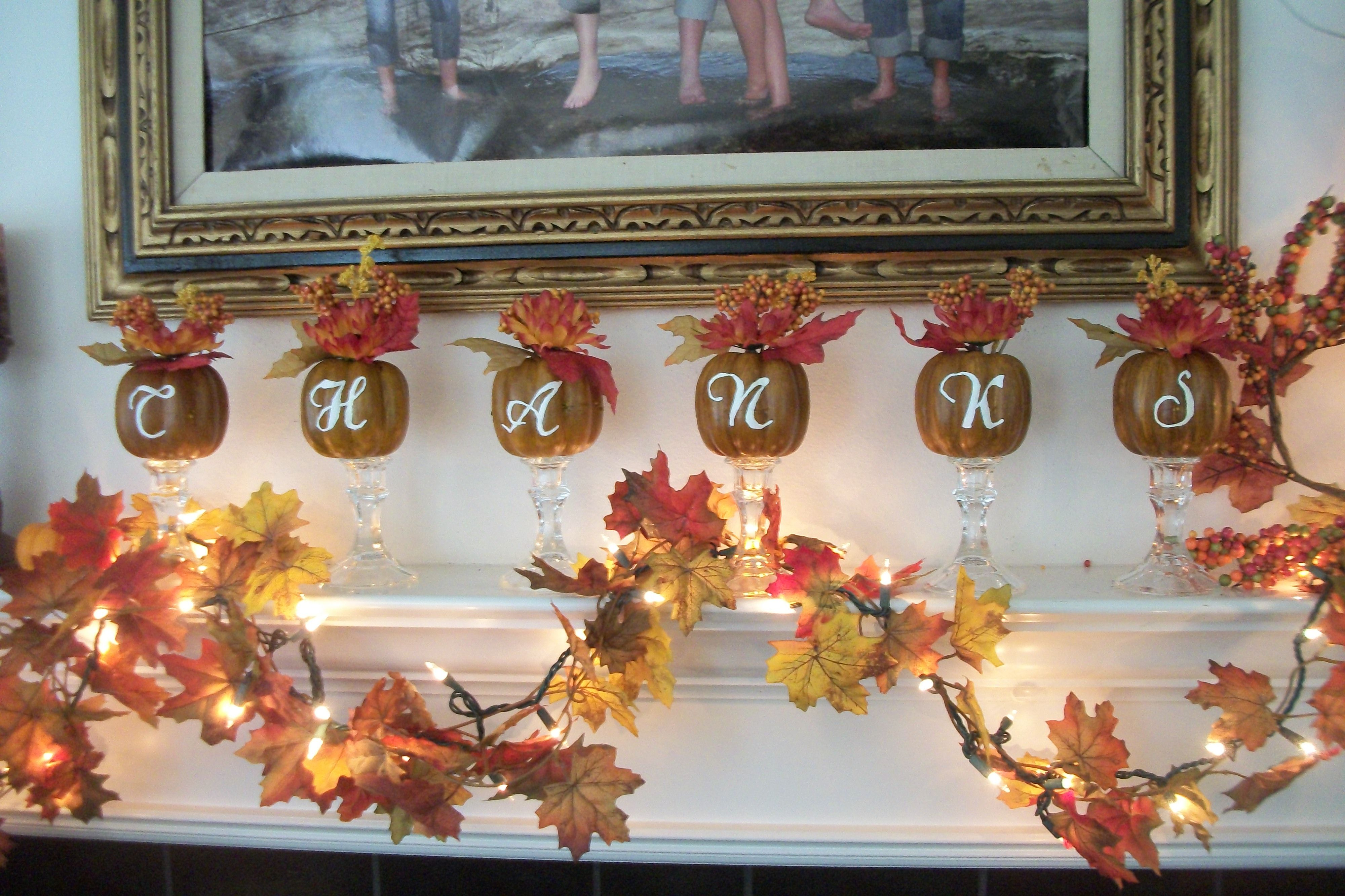 Thanksgiving dollar tree project buy candle holders and