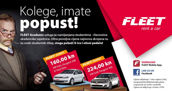 New Offer Fleet Academic Students You Can Rent A Car Of Your Choice At The Lowest Prices Hurry Up We Are Waiting For Thrifty Car Rental Rijeka Car Rental