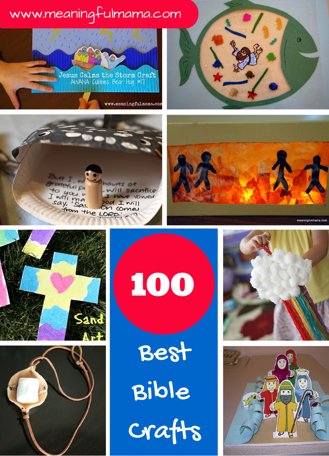 100 Best Bible Crafts and Activities for Kids | Sunday School/ Youth