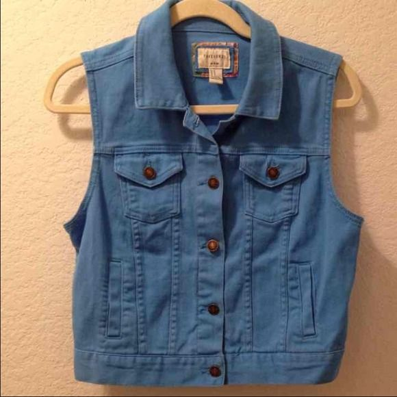 Forever 21 blue jacket best M. Great condition. Forever 21 blue jacket best M. Great condition. Forever 21 Tops