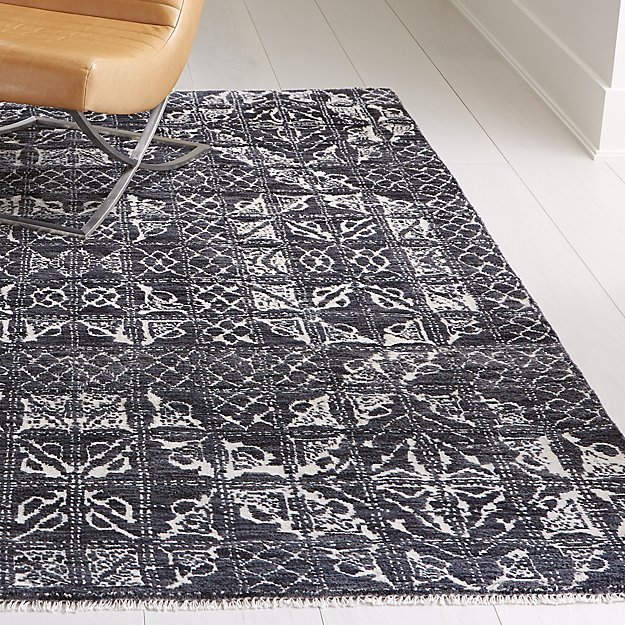Ayla Hand Knotted Rug 2 5 X9 Reviews Crate And Barrel Hand Knotted Rugs Rugs Crate And Barrel