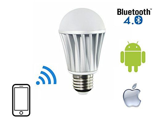 Flux Bluetooth Led Light Bulb Dimmable Multicolored Color Changing Led Lights Smart Led Light B Led Color Changing Lights Led Light Bulb Smart Light Bulbs