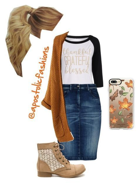 Apostolic Fashions #1816 by apostolicfashions on Polyvore featuring Armani Jeans and Casetify #churchoutfitfall