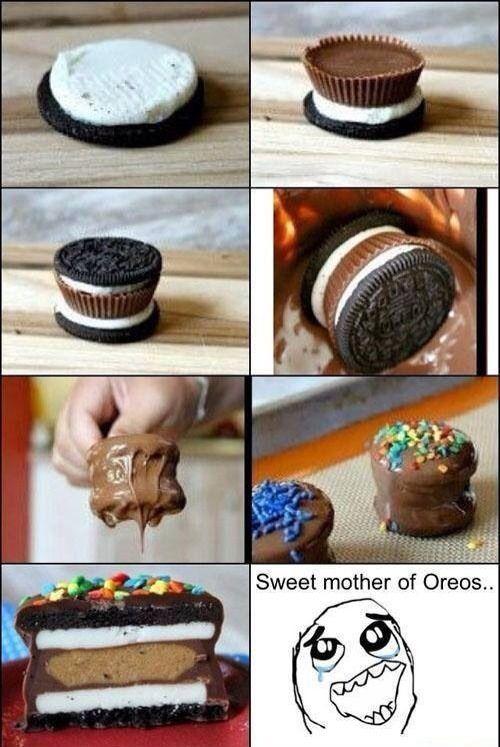 DIY: Oreo & Reese Covered Chocolate! So Easy!
