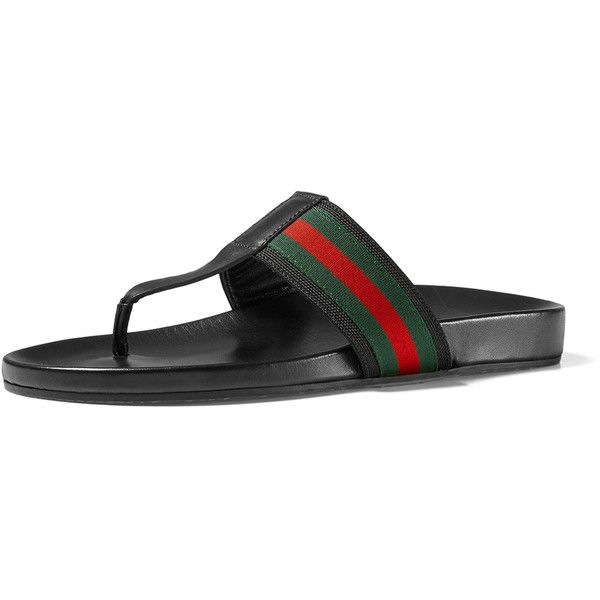 0d398f107 Gucci Web Strap Sandal ( 430) ❤ liked on Polyvore