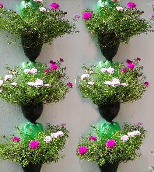 48 Ideas reutilizadas para maceteros de jardín originales