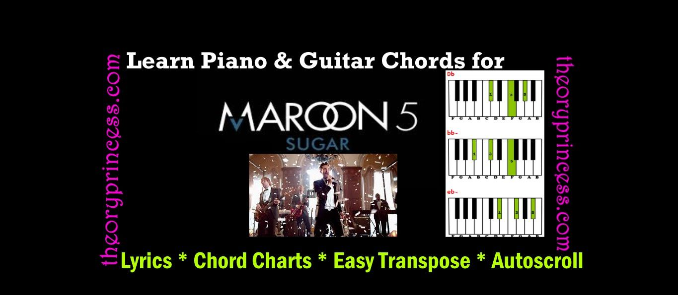 Anyone Can Play Sugar By Maroon 5 With A Little Help From The Theory