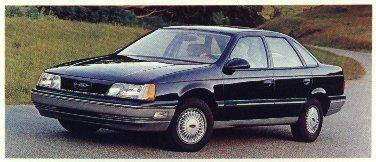 1987 Ford Taurus Mt 5 4 Door Sedan Ford Taurus Taurus Ford