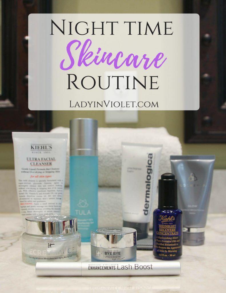 Nighttime Skincare Routine Skin Care Regimen Skin Care Skin