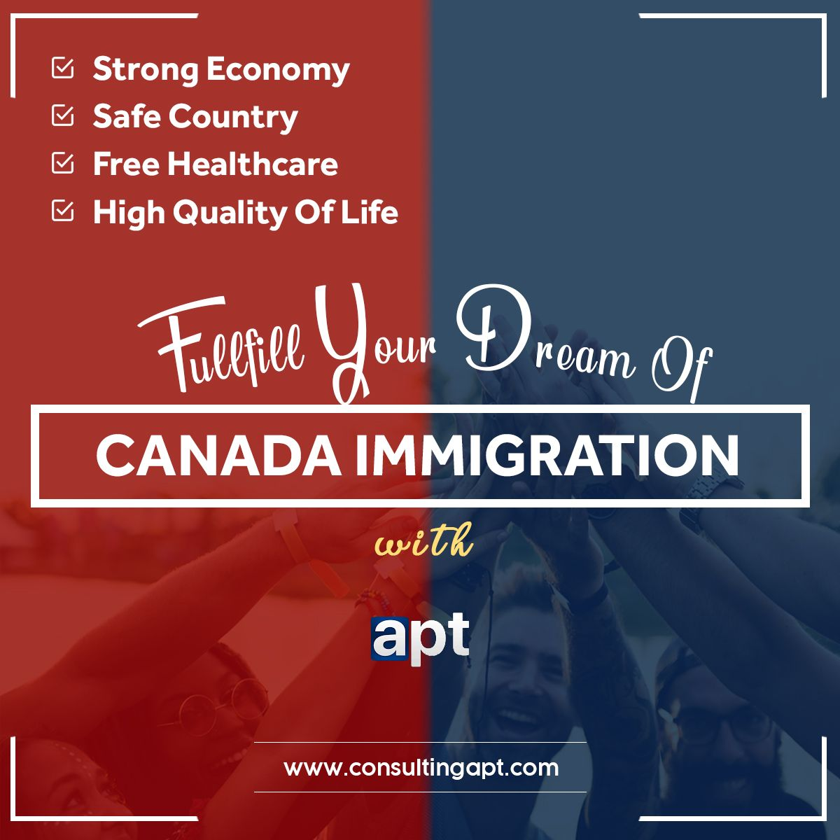 So Why Canada ? Safe Country Strong Economy Free