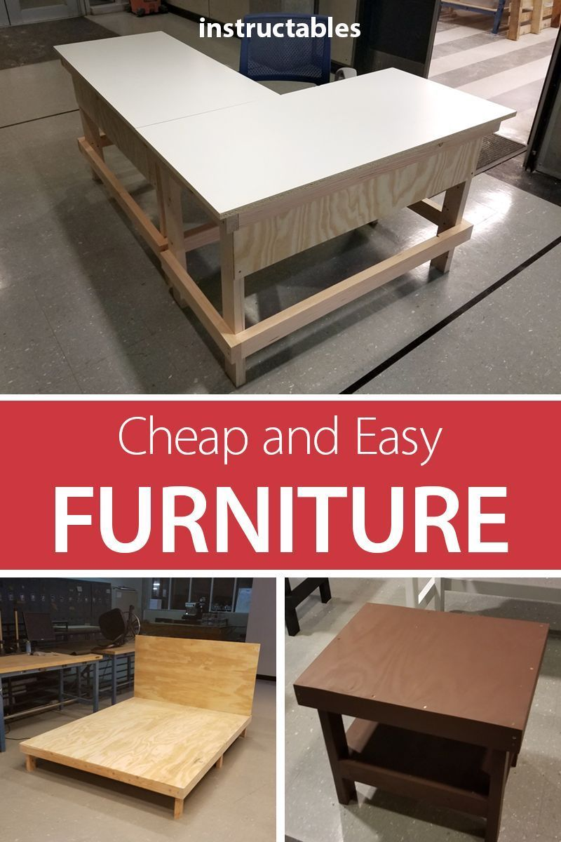 Cheap And Easy Diy Dorm Apartment Furniture Diy Furniture Cheap