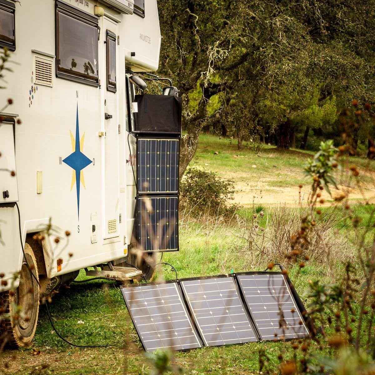Faltbares Solarmodul Wp  Hymer  Pinterest