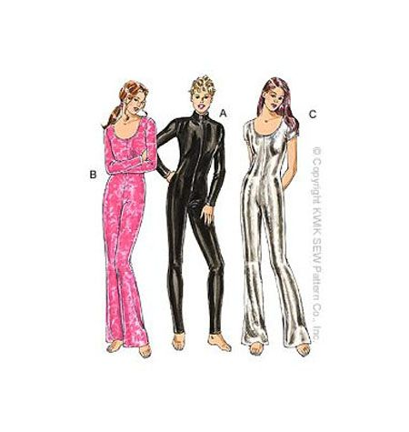 Kwik Sew 3052- unitards. Used for almost every unitard costume I\'ve ...