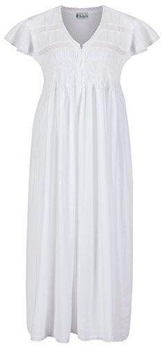 The 1 for U 100% Cotton Nightgown -Olivia - White (XL) U.A.A. INC. http://www.amazon.com/dp/B00OTPC6N6/ref=cm_sw_r_pi_dp_DyoEvb10BKJD6