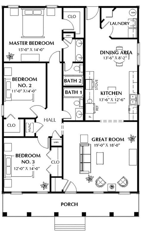 Cute southern cottage dh narrow lot st floor master suite pdf architectural designs also plan in likes rh pinterest