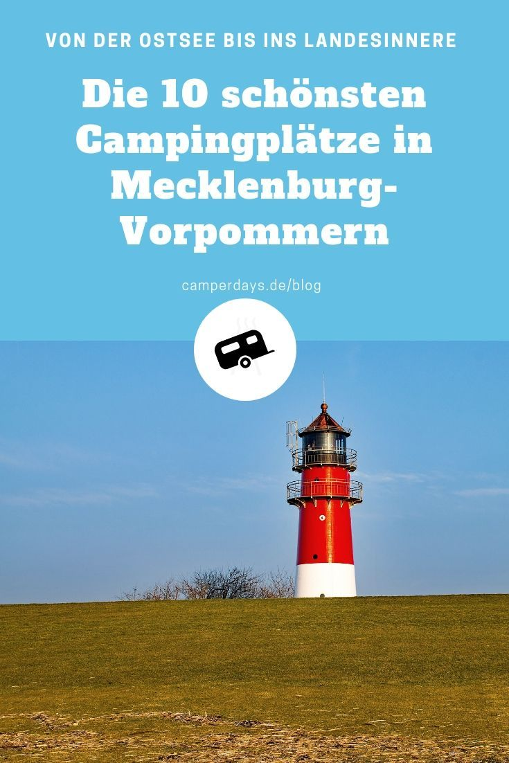 Photo of Our selection of the 10 most beautiful # campsites on the #Ostsee in #Mecklenburg -…