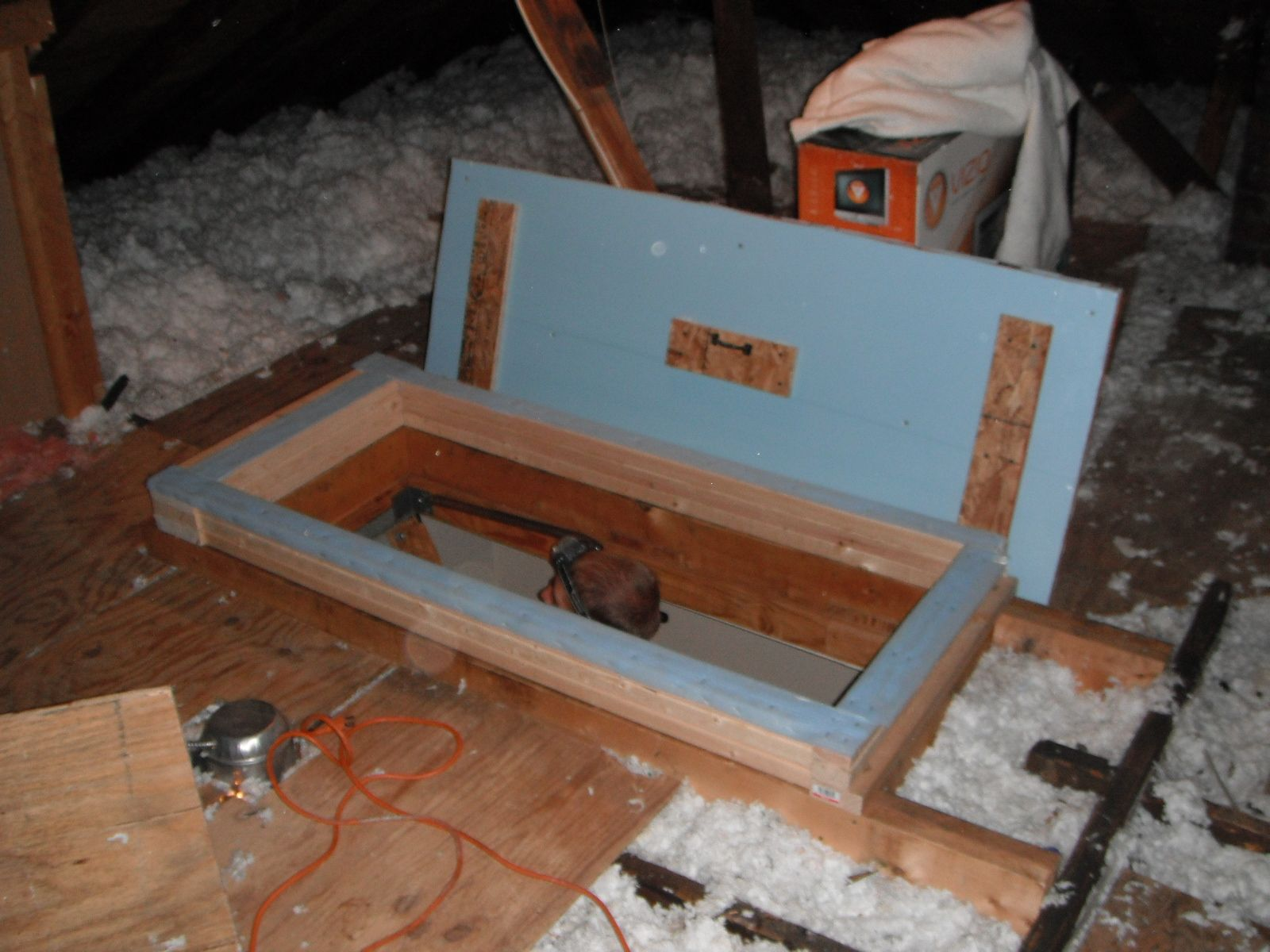 Custom Attic Stair Covers & Custom Attic Stair Covers   House ideau0027s   Pinterest   Attic stairs ...