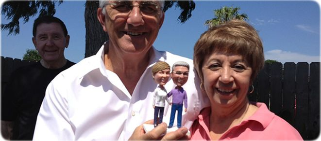 100% handmade custom bobblehead dolls,based your photos sculpture, We have been focused on United Kingdom bobbleheads market since 2009.