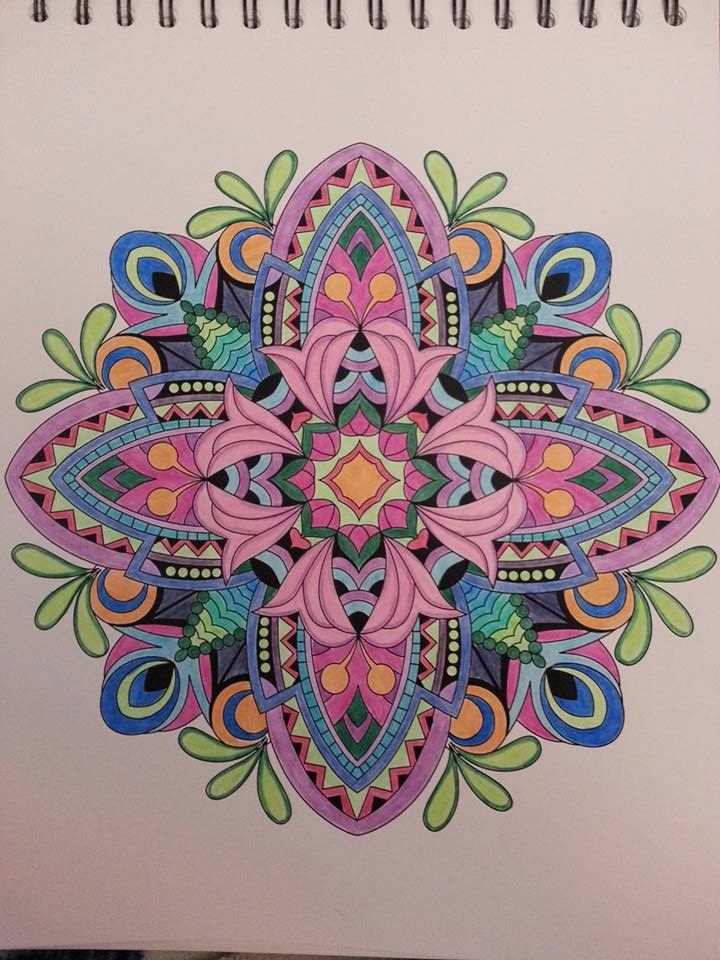 ColorIt Mandalas To Color Volume 1 Colorist Barbara Berlyn Pacheco Adultcoloring Coloringforadults