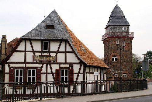 Bad Kreuznach, Faust Haus Bei Der Wilhelmbrücke (Faust House Next To The  Wilhelm
