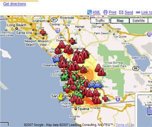 Image Result For California Fires Map Today California Fires