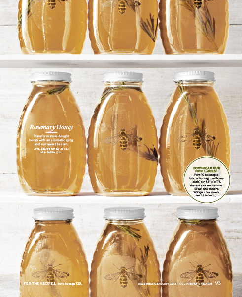 Clear Labels Free For Your Honey