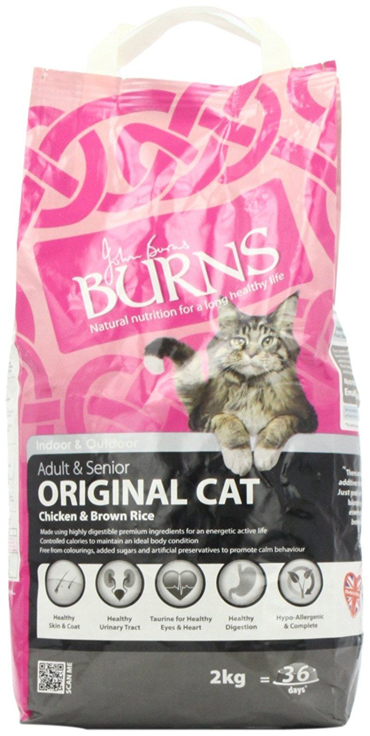Burns Pet Nutrition Cat Original Chicken And Rice 2 Kg Find Out