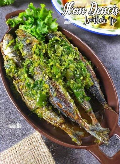 Resep Ikan Dencis Lombok Ijo Di 2020 Resep Ikan Resep Ide Makanan
