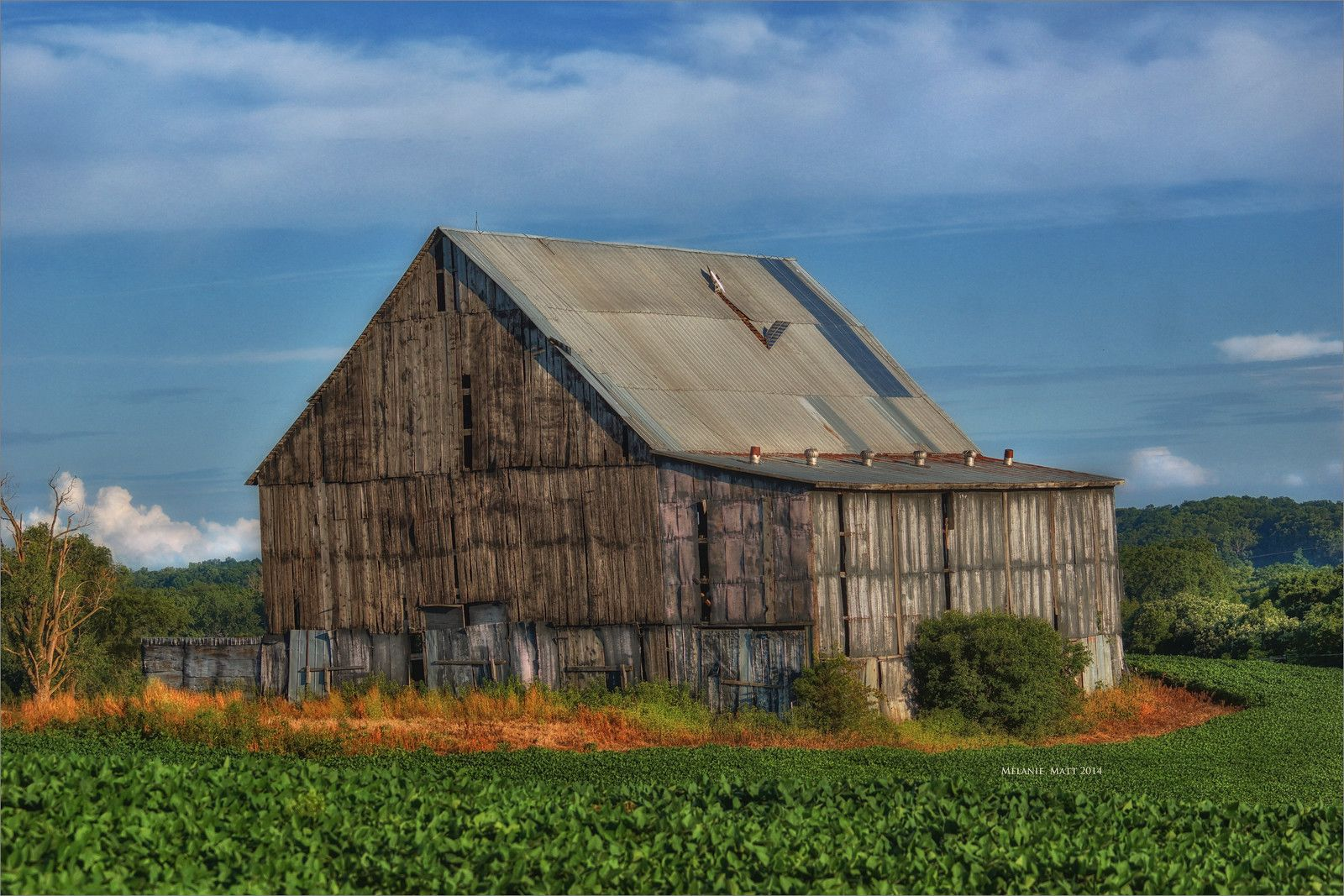 Tobacco Barn near Weston, MO