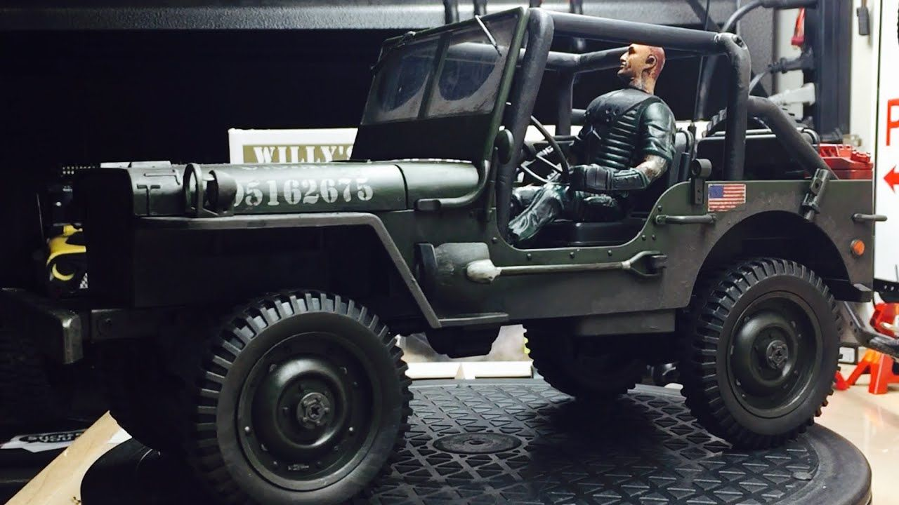 Willys Mb Jeep From Hontai Jjrc Q65 Weathering Update Willys Willys Mb Jeep