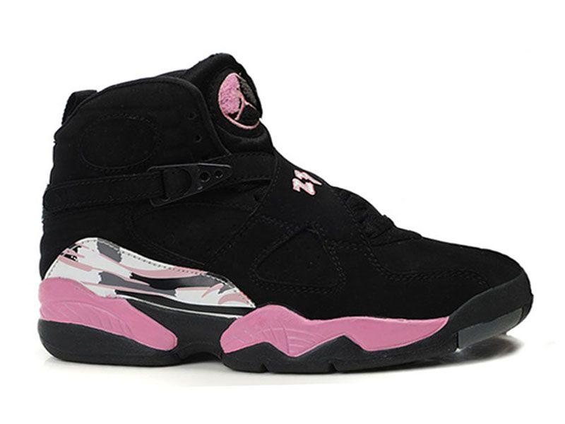 Air Jordan Retro 8 - Chaussure Nike Jordan Basket-ball Pour Femme/Fille  580528