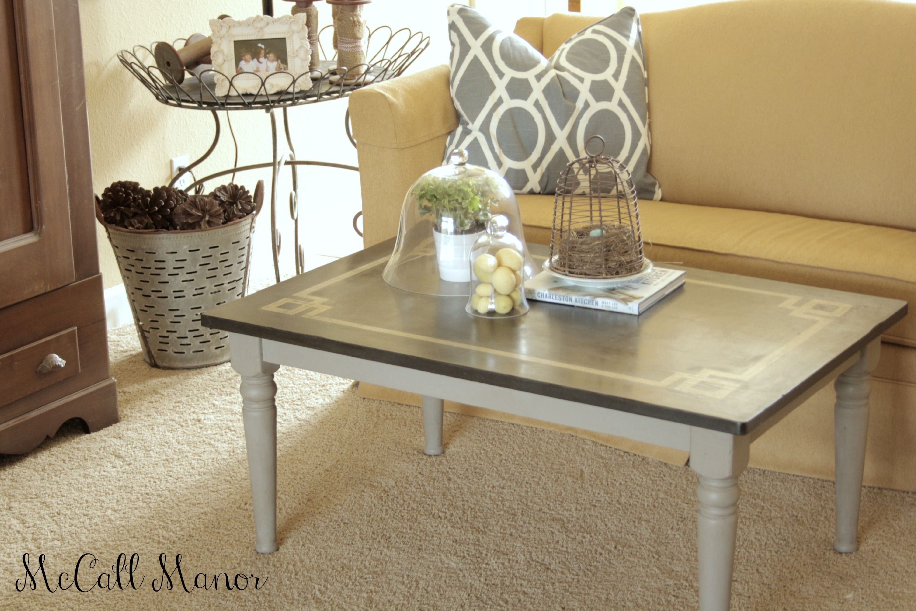 MM coffee table makeover   DIY coffee tables   Pinterest