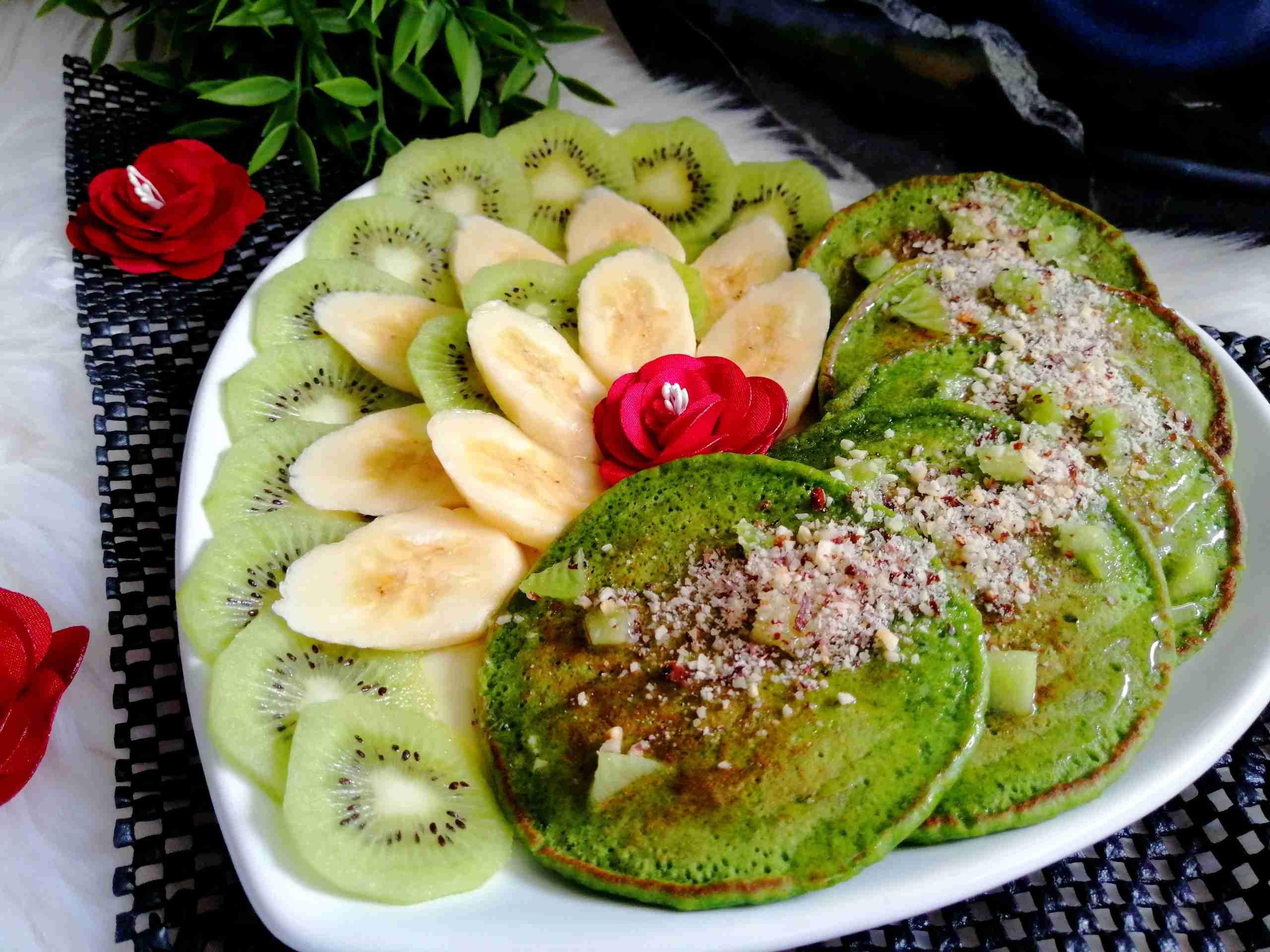 بان كيك خرافي من اختراعي بالشوفان والسبانخ دورة الطبخ 5 زاكي Recipe Food Avocado Toast Yummy