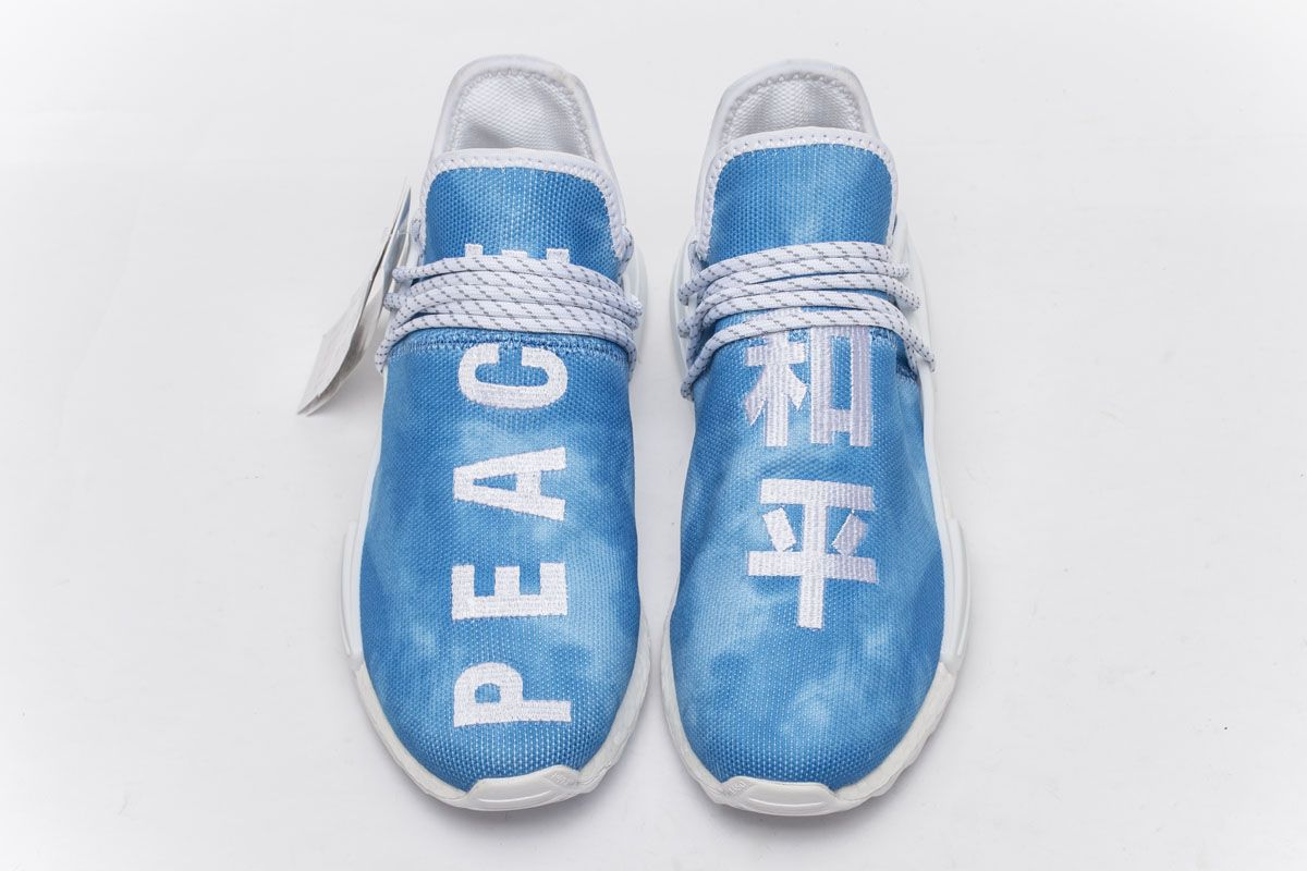d11a19006 Pharrell Williams x adidas Originals Hu NMD PEACE F99763 Real Boost for  Sale