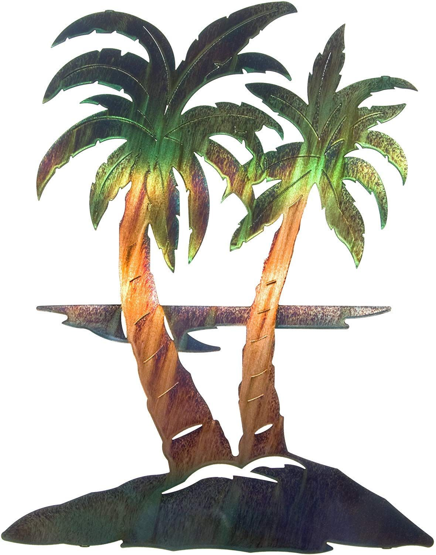 Best Palm Tree Wall Art And Palm Tree Wall Decor For 2020 Beachfront Decor Palm Tree Metal Wall Art Metal Tree Wall Art Tree Wall Art