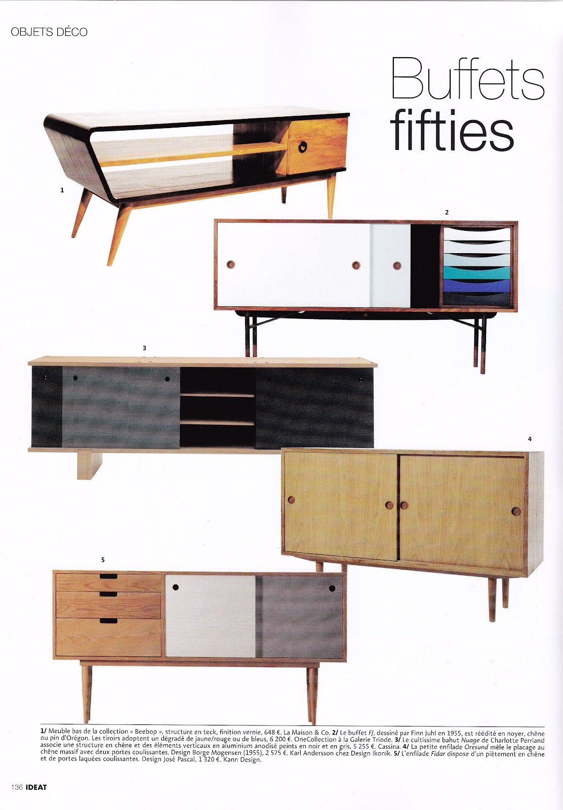 Buffet 50ties my favorite house inspirations mobilya for Mobilia anos 60