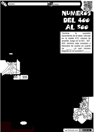 400 al 500 con tabla | 3.oszt | Pinterest | Tabla, Escuela y Segundo ...