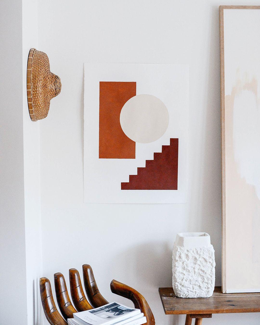 Eggshell paint mid century decor diy house projects interior design modern interior