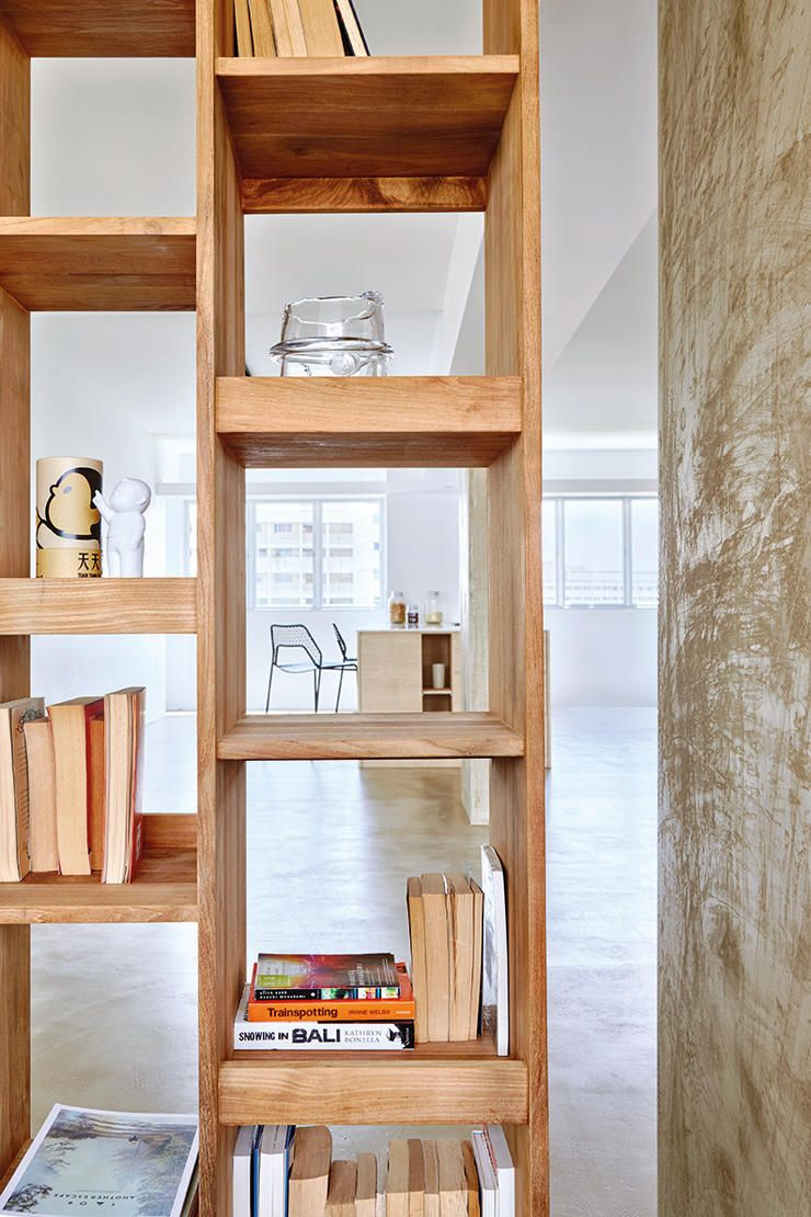 Living Room Design Hdb Flat: 8 Inspiring HDB Flat Homes With Concrete Screed Finishes