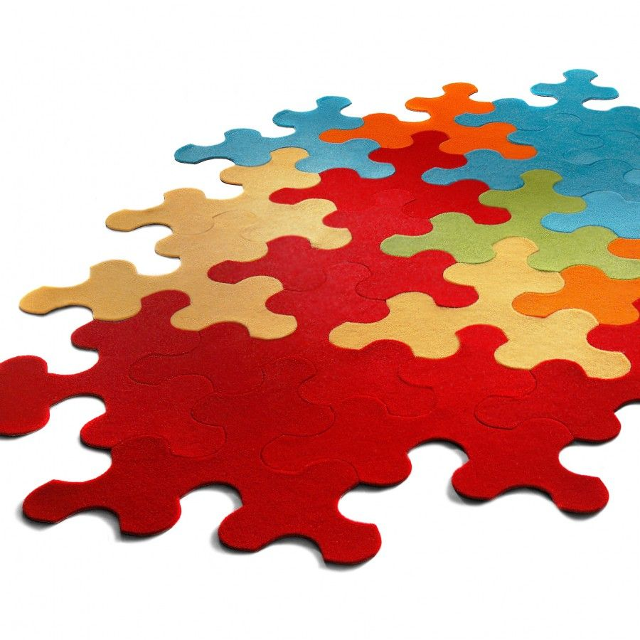 Puzzle Rug Pieces 99 For A Set Of 10