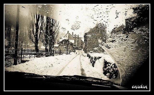 Pueblos nevados :)