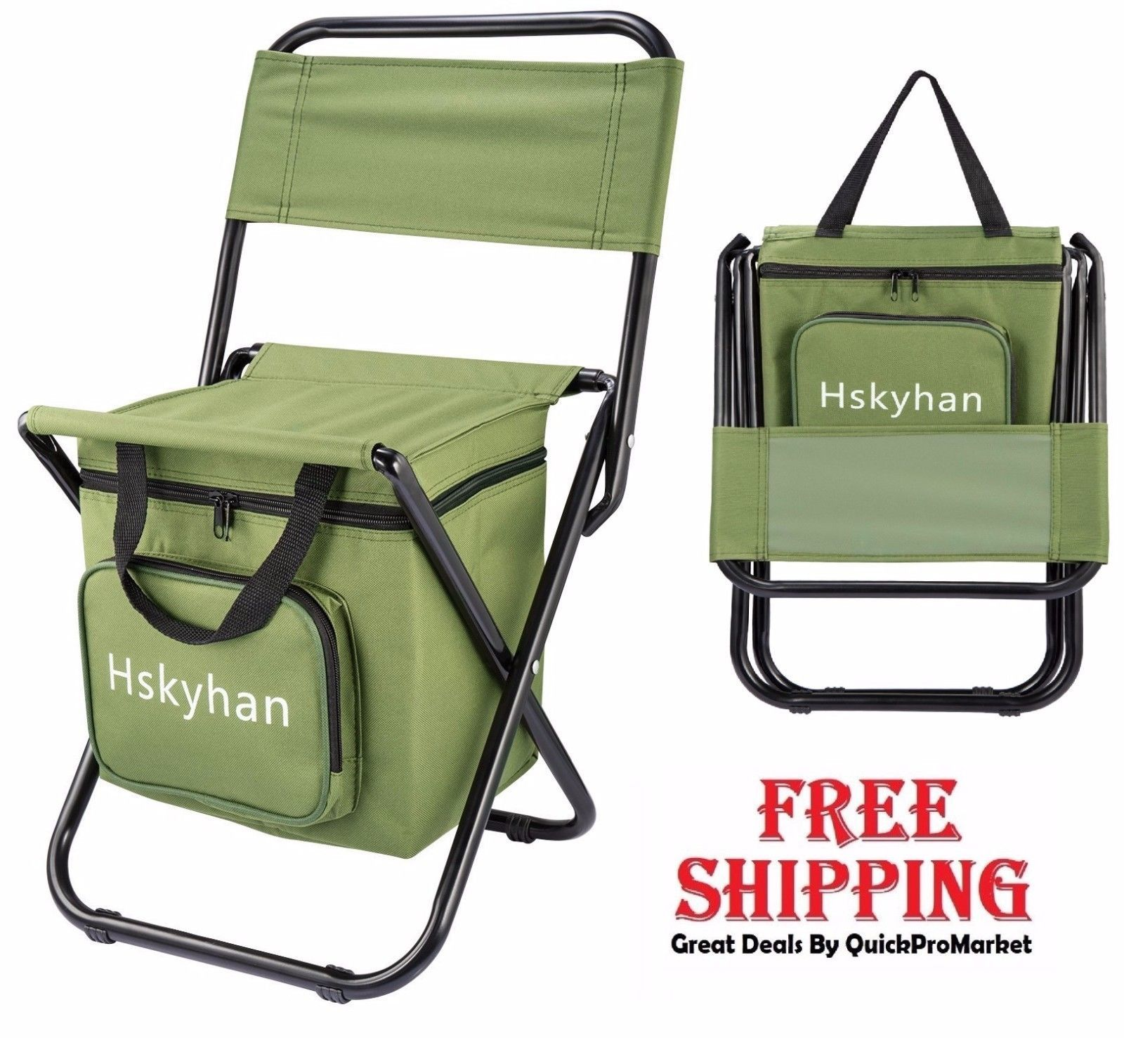 fishing cooler chair 3d massage portable folding camping with outdoor beach hiking stool