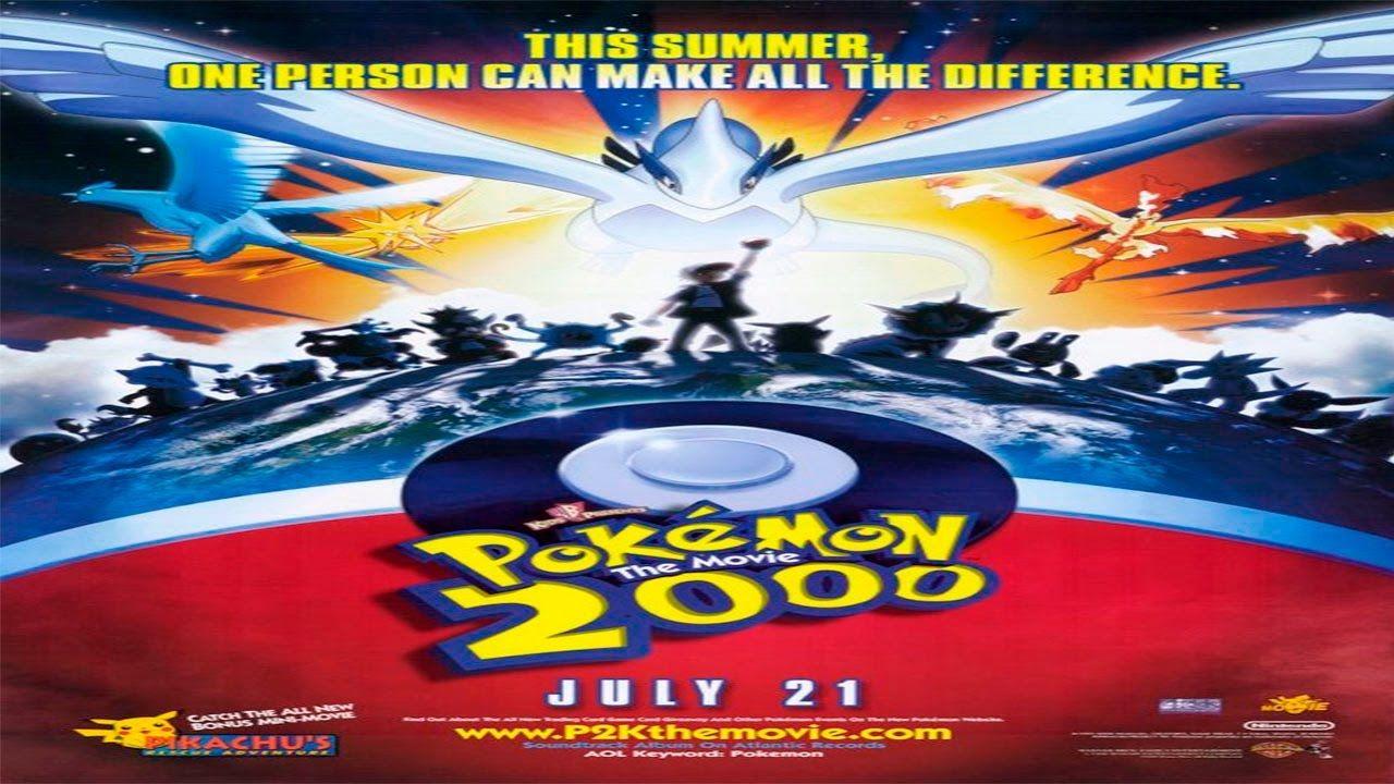 Pokemon Pelicula 2000 El Poder De Uno Espanol Hd Pokemon La Pelicula Carteles De Cine Pokemon