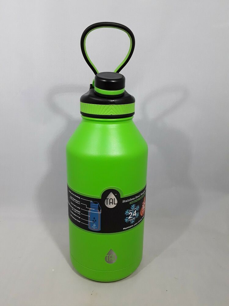 5ec157df47 TAL 64 Oz Ranger Pro Water Bottle Double Wall Vacuum Insulated Stainless  Steel #TAL