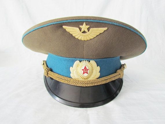 Military Gift Vintage Military Hat Vintage Military Cap Army Etsy Military Hat Military Cap Vintage Military