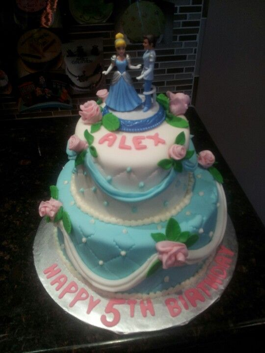 Cinderella cake Cakes Pinterest Cake Birthday cakes and Cake