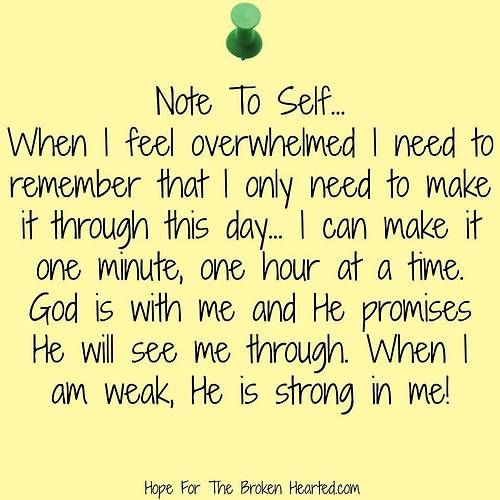 Note To Self Its All Gonna Be Okay Faith
